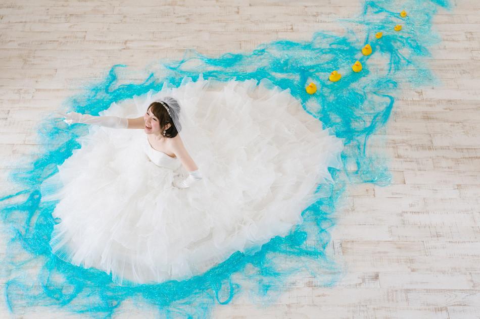 結婚式・ブライダル花嫁の記念写真