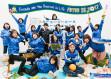 富陽サッカークラブ 卒団記念写真(保護者バージョン)