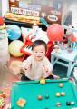 松原様 1歳バースデー記念写真