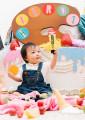 出村様 1歳バースデー記念写真